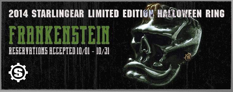 Starlingear Halloween Ring 2014 Frankenstein